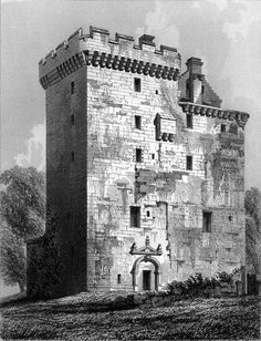 Clackmannan Tower Clackmannan Tower is a five-storey tower house, situated at the summit of King's Seat Hill in Clackmannan, Clackmannanshire, Scotland. It was built in the 14th century by King David II of Scotland and sold to his cousin Robert Bruce in 1359.