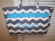 Chevron Diaper Bag - $30