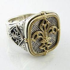 Konstantino Jewelry Stylish Men Dress Rings