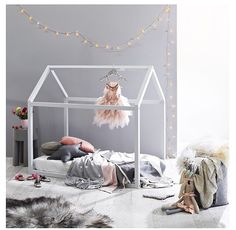 Love the house bed frame