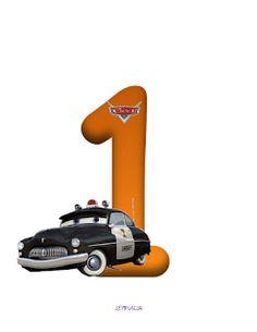Alfabeto de Cars con Minúsculas y Números. | Oh my Alfabetos!