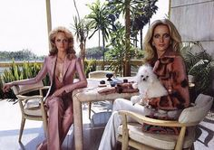 love this Versace campaign from the 90's shot by Meisel - very Valley of the Dolls