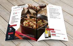 #brochure #identitevisuelle #recettes #terredestempliers #cotevermeille #banyuls #collioure