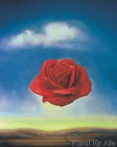 Salvador Dalí - The Rose, 1958