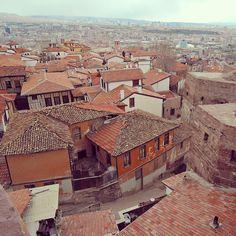 Over the roofs of #Ankara with @hannastarlight #travel #europe #oneeurope #turkey #wanderlust