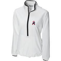 Cutter  amp  Buck Carolina Panthers Women s Breast Cancer Awareness  WeatherTec Post Game Half-Zip b4066dc09