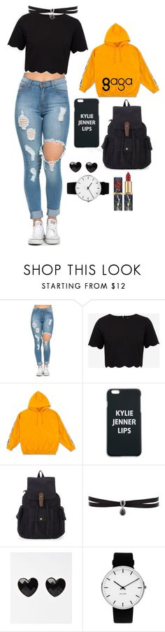 """Sin título #307"" by gabrielae77 ❤ liked on Polyvore featuring Ted Baker, Fallon and Rosendahl"