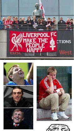 LiverPool Football Troll, Liverpool Fc, Baseball Cards, Sports, People, Fun, Hs Sports, Sport, People Illustration