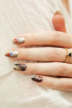 Proenza Schouler Fall 2012 Inspired Nails by ebmonson