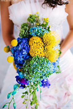 Style Unveiled - Style Unveiled | A Wedding Blog - Add A Little Something Blue To Your Wedding