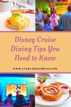 Apr 4, 2020 - Disney Cruise DIning Tips from a Disney Cruise Expert. Here are all the Disney Cruise Insider Dining TIps and Secrets that you need to know. Disney Cruise Europe, Disney Dream Cruise Ship, Disney Wonder Cruise, Disney Fantasy Cruise, Disney Ships, Packing For A Cruise, Cruise Tips, Disney Cruise Line, Disney Vacations