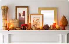 Fall Home decor: Accent your home with the colors that mirror the beautiful fall hues that you find outdoors, such as mustard yellows, purples, and burgundies. Mix varying shades of red, orange and yellow with sophisticated metallic sheens like gold and bronze.