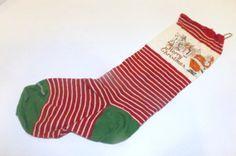 Vintage Christmas Stocking Holiday Decor by JandDsAtticTreasures, $12.00