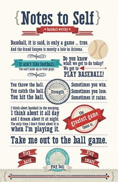 baseball quotes | ... driven, but as soon as I saw the idea, I ran with the baseball theme