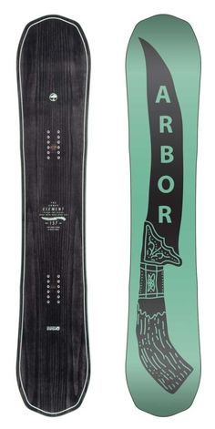 Element 157 Snowboard for men by Arbor