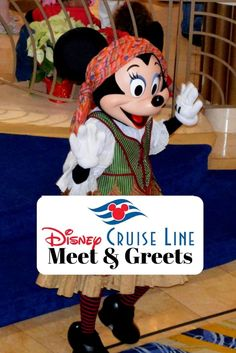 List of characters that may be available for Character Meet and Greets on a Disney Cruise via @disneyinsider