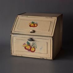 Vintage Pie Safe Bread Box