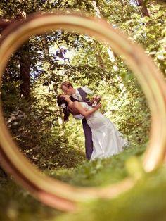 Awesome wedding shot