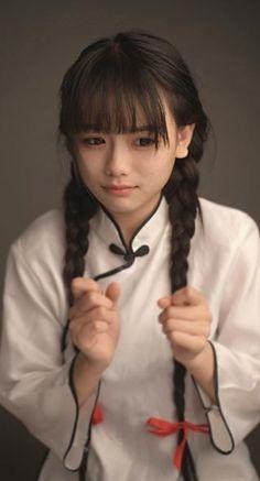 Back to the Republic of China. Japanese Beauty, Asian Beauty, Most Beautiful Women, Beautiful People, Asian Woman, Asian Girl, Pretty Black Girls, Ancient Beauty, Kawaii Girl