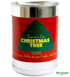 Christmas tree in a can (Albero di Natale in lattina) by Microgiardini Made in Italy: nice, original and cheap gift idea