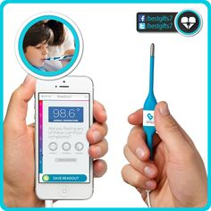 KINSA SMARTPHONE THERMOMETER - [GET BETTER!]  Must have: http://amzn.to/1ooyXc5 [like 'n share!]