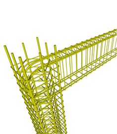 In the joint area of an earthquake resistant frame both the upper and the lower reinforcement are fully anchored.