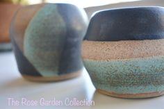 Wheel thrown vases with matte black and copper rust glazes Nespresso, Matte Black, Vases, Glaze, Rust, Copper, Kitchen Appliances, Pottery, Garden