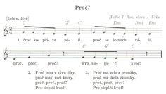 Výsledek obrázku pro proč kopřiva pálí písnička Music Notes, Sheet Music, Kids, Young Children, Boys, Children, Music Sheets, Boy Babies, Song Lyrics