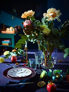 maybe a winter wedding? New Ikea Winter Holiday Collection & Decorations 2018 Ikea Christmas, Xmas, Gold Christmas, Christmas Tree, Ikea 2018, Style Deco, Christmas Decorations, Table Decorations, Party