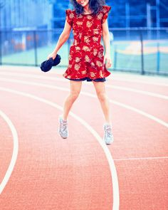 airborne, track by Joanna_Pan, via Flickr | #warm #cool #red #green #blue #gold