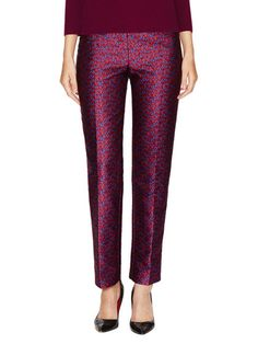 Floral Jacquard Pant by Carolina Herrera at Gilt