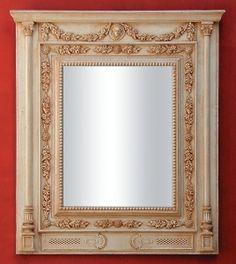 Corinthe 36800 Mirror Elegance French Detail Finesse Art Handmade MirrorsMirror ArtFinesseHomesInteriordesignFormal