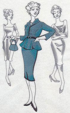 Fashion Plate Medley - 1940s