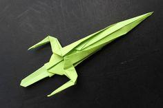 How to make a Ninja origami paper sword