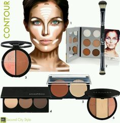 contouring makeup african american - Google Search