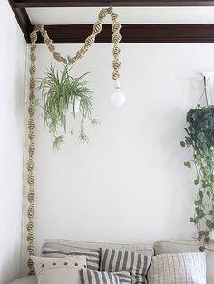 macrame/macrame anleitung+macrame diy/macrame wall hanging/macrame plant hanger/macrame knots+macrame schlüsselanhänger+macrame blumenampel+TWOME I Macrame & Natural Dyer Maker & Educator/MangoAndMore macrame studio Diy Hanging, Hanging Plants, Hanging Closet, Indoor Plants, Ikea Hanging Light, Hanging Lights, Macrame Projects, Diy Projects, House Projects