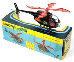 Corgi Toys Bat Copter