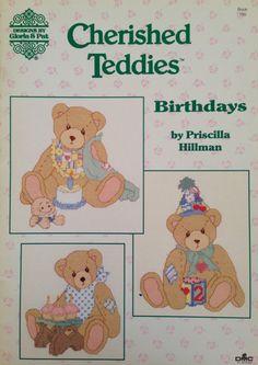 Cherished Teddies. Chart book  100 by Gloria and por FunkyFairyHut