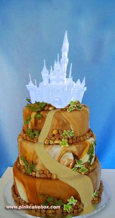 Sleeping Beauty Ice Castle Cake