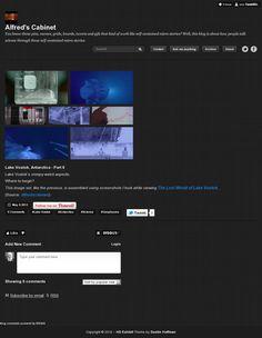 Website 'http://alfredscabinet.tumblr.com/post/22683324480/lake-vostok-antarctica-part-ii-lake-vostoks' snapped on Snapito!