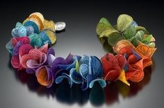 I am inspired by color and form-this is just lushly beautiful! Carol Windsor Jewelry