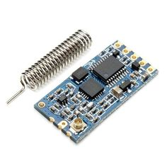 Clock Kit Temperature Light Control Version DIY 4 Digit LED Electronic. HC-12 433 SI4463 Wireless Serial Module Remote 1000M With Antenna  Note: HC-11 cannot communicate with the HC-12, they work independently, in pairs  Features:  Supply voltage: 3.2V~5.5V. (If the module you want to work long hours in the emission state, it is recommended that when the supply voltage exceeds 4.5V threaded a 1N4007 diode to prevent module built-in LDO heated) Default address range (open field test): About…