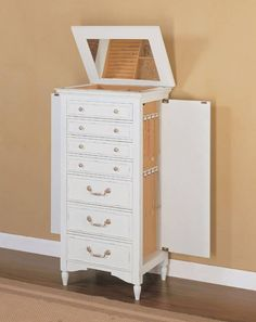 Hives Honey Blue Cabby Jewelry Armoire Jewelry storage