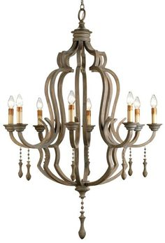 Waterloo Chandelier Lighting | Currey and Company