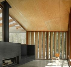 7/15 Clear Lake Cottage by MacLennan Jaunkalns Miller Architects. Built for a busy Toronto family as a weekend getaway.  What an amazing view!!!