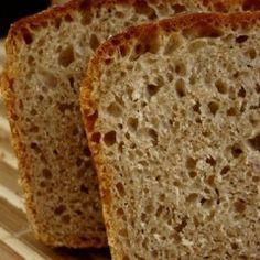 Łatwy chleb pszenno-żytni Ciabatta, Brot
