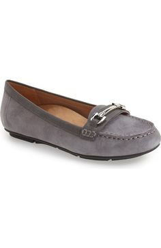 Vionic Virginia Leather Moccasin Loafers 0iXXKwf7Pp