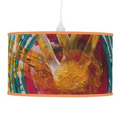 Art Therapy Hanging Lamp