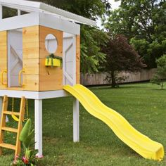 Don't forget the kids! Play Equipment doesn't have to be tacky