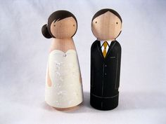 peg doll cake topper (add little Luna and Lily figurines?)